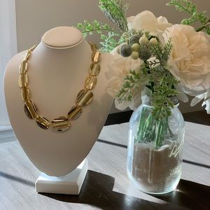 J Crew Gold Necklace
